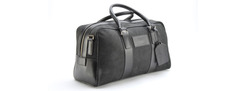 Medium Leather Holdall - 702037