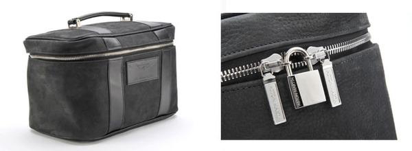Leather Aston Martin Beauty Case