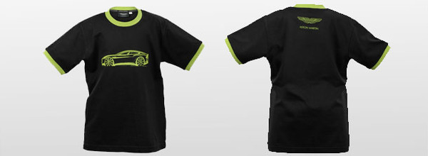 Black Cotton Green Sketch T-Shirt