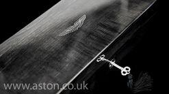 Aston Martin Ripple Sycamore Valet Jewellery Black - AH1076