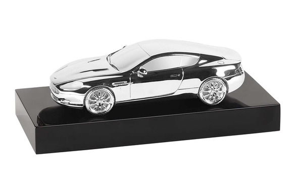 Aston Martin Silver DB9 Coupe Model