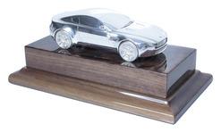 Aston Martin Silver V8 Vantage Coupe Model - AH1045