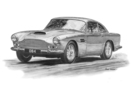 DB4 Black & White A3 Print - Mike Harbar