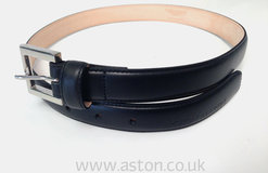 Ladies Aston Martin Leather Belt
