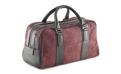 Nubuck Leather Holdalls - 705030