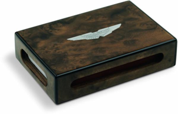 Aston Martin Solid Walnut Matchbox