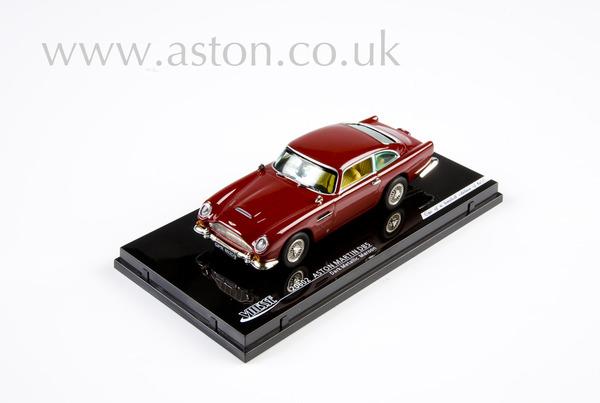 Aston Martin DB5 Maroon Model
