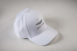 WHITE BASEBALL CAP - AML0042