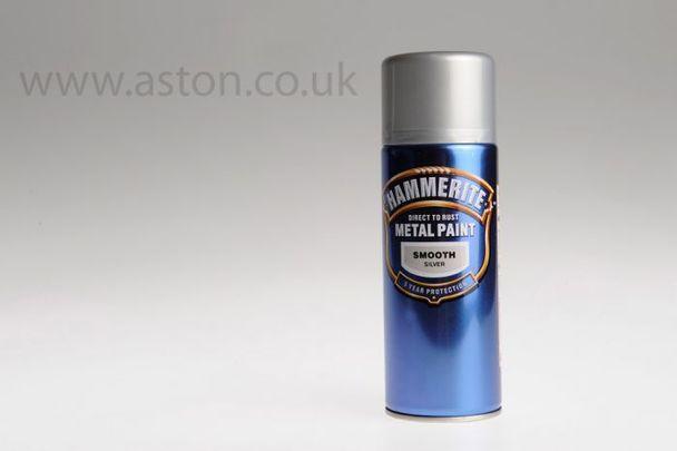 Hammerite (Smooth Silver)