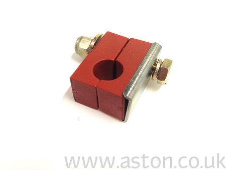 Clamp Block, Fuel Pipe, Single, Halves - 020-034-0119