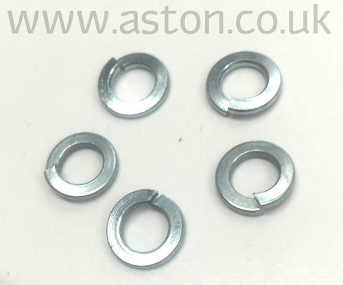 WASHER M5 SPRING     TYPE B WRGHT STEEL   ZINC PLT - 692045