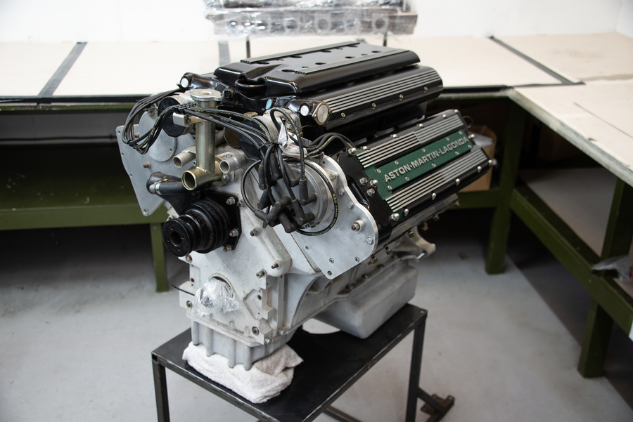 Aston Martin Engine For Sale Classic  V8.  Vantage 550 / Coupe / Virage. Engine Re built.