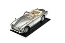 DB2/4 MKIII Silver Model, 1:18 Scale