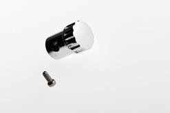 Chromed Heater Control Knob - Knurled - AWCK-8