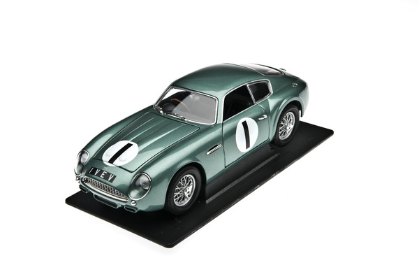 Aston Martin DB4GT Zagato BRG 1 VEV
