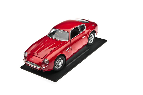 DB4 Zagato Red Model, 1:18 Scale