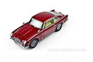 Aston Martin DB5 Red Model, 1:18 Scale