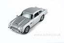 Aston Martin DB5 Silver Grey Model, 1:18 Scale
