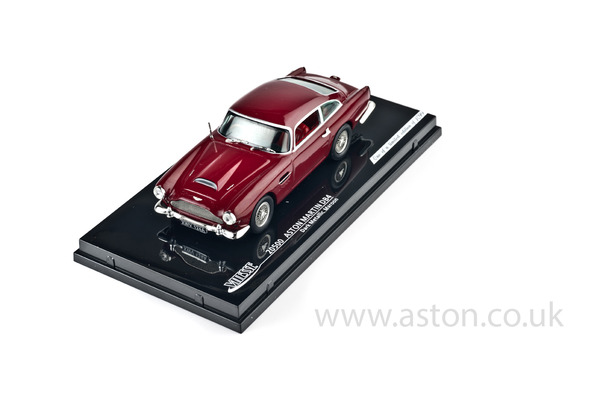 Aston Martin DB4 Maroon Model