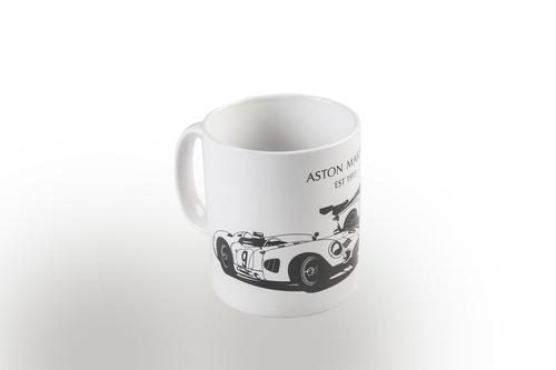 ASTON MARTIN HERITAGE MUG WHITE - AML0010
