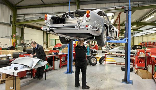Aston Martin Restoration